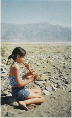 Child Playing Flute