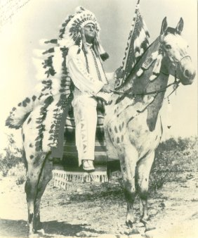 Chief Eagle Friend ~ Assiniboin